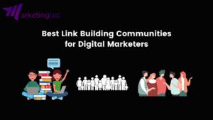 Link building communities