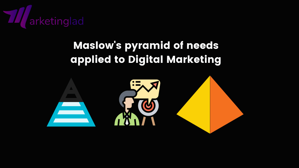 Maslow's pyramid of needs applied to Digital Marketing